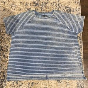 RAG & BONE DISTRESSED T-SHIRT